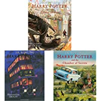 Harry Potter And The Goblet Of Fire: Illustrated Edition + Harry Potter And The Prisoner Of Azkaban: Illustrated Edition…
