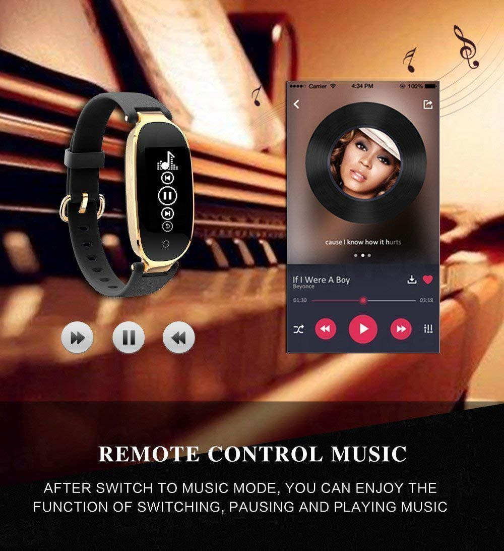 Rayfit Pulsera Actividad Reloj Inteligente Mujer Monitor de Ritmo Cardíaco Fitness Tracker Contador de Calorías Pasos… 6