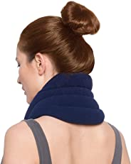 Sunny Bay Hands-Free Neck Heating Wrap: Microwavable Thermal Hot Pack, Heat Therapy Neck Brace for Sore Neck & Shoulder Musc
