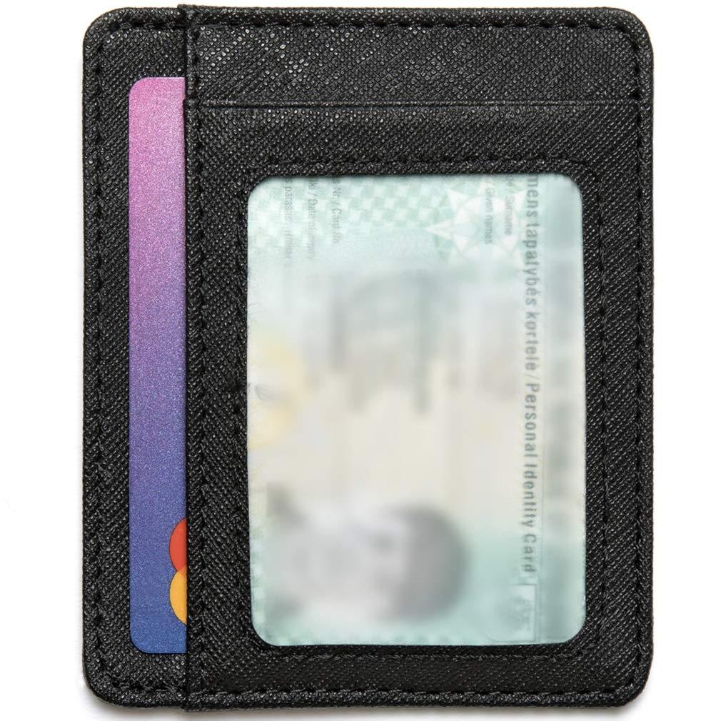 7435c656f4 Mercor Portafoglio Uomo Piccolo Porta Carte di Credito RFID|Porta Tessere  Sottile in Pelle ...