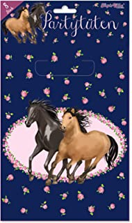 Herz mein Pferd Partytüten (Packung mit 8): : Spielzeug