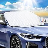 Favoto Copertura Parabrezza Auto, Telo Protezione per Parabrezza di Auto Resistente a Gelo/Acqua/Pioggia/Neve/UV…