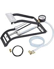 DeoDap Heavy Steel Body Gauge Air Foot Pump for Car/Cycle