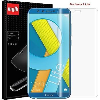 MYLB Honor 9 Lite Screen Protector, [2 Pack] Soft TPU Full