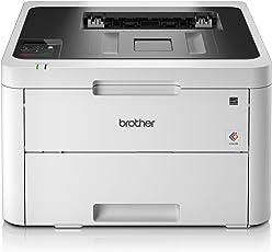 Brother HL-L3230CDW Kompakter Farblaserdrucker, weiß