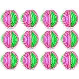 RONRONS 24 Pièces Boule de Lavage Anti-Poil Anti-Peluche Réutilisable pour Machine à Laver Sèche-Linge Balles pour Lave-Linge