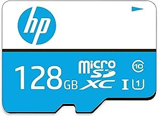 HP 128GB Class 10 MicroSD TF Memory Card (Blue)