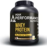 Peak Performance Nutrition 100% Pure Whey Protein Powder Enriched With 13 Vitamins and 6 Minerals I 24g Protein 6.5g BCAA 11.