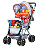 Luvlap Sunshine Baby Stroller and Pram - Stripes (Multicolor 2)