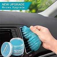 TICARVE Auto Reinigungsgel für den Innenraum, Weicher und Flexibler Tastatur Reiniger, Staubschutzkleber aus…