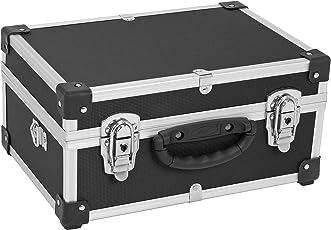 PRM10106B Alukoffer Aluminiumkiste Werkzeugkiste Lagerbox Leergewicht 2600g VARO Farbe schwarz