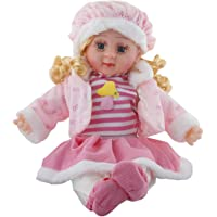 Vishal Smart Mall Soft Girl Singing Songs Princess Good Looking Musical Baby Doll Toy ( Assorted Dress Color )