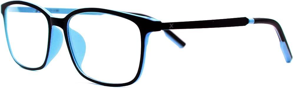 Pixel Lens Vogue Occhiali,per PC,TV,Tablet,Gaming. Contro STANCHEZZA Occhi, Massimo Comfort VISIVO, Montatura Leggera, CERTIFICATI Luce Blu - 41% E UV - 100% Test università Torino