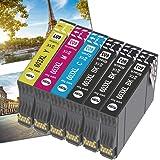 OGOUGUAN 603XL Cartucce Sostituzione per Epson 603 XL Cartucce, Compatibile per Epson Expression Home XP-2100 XP-4100 XP-3100