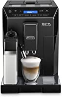 De'longhi Eletta Fully Automatic Coffee Machine ECAM44.660.B, Black