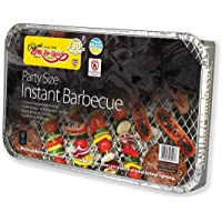 Holland Plastics Original Brand 1 X FAMILY SIZE INSTANT DISPOSABLE BBQ- COOKS FOR TEN!