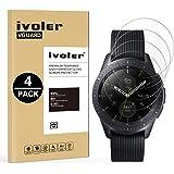 iVoler [4 Stuks] Beschermfolie Compatibel met Samsung Galaxy Watch 42mm / GalaxyWatch341mm Screen Protector, Film van Geha