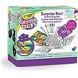 Crayola Glitter Dots - Scatola delle Sorprese, per Creare e Decorare con il Glitter Modellabile, Attività Creativa e Idea Reg