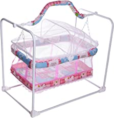 Archana NHR Baby Mobile Cradle Swing Jhula Red