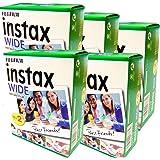 Fujifilm Instax Wide – verpakking met 5 verpakkingen met elk 20 films (100 grote foto's) voor Fuji Instax 210, 200, 100, 300