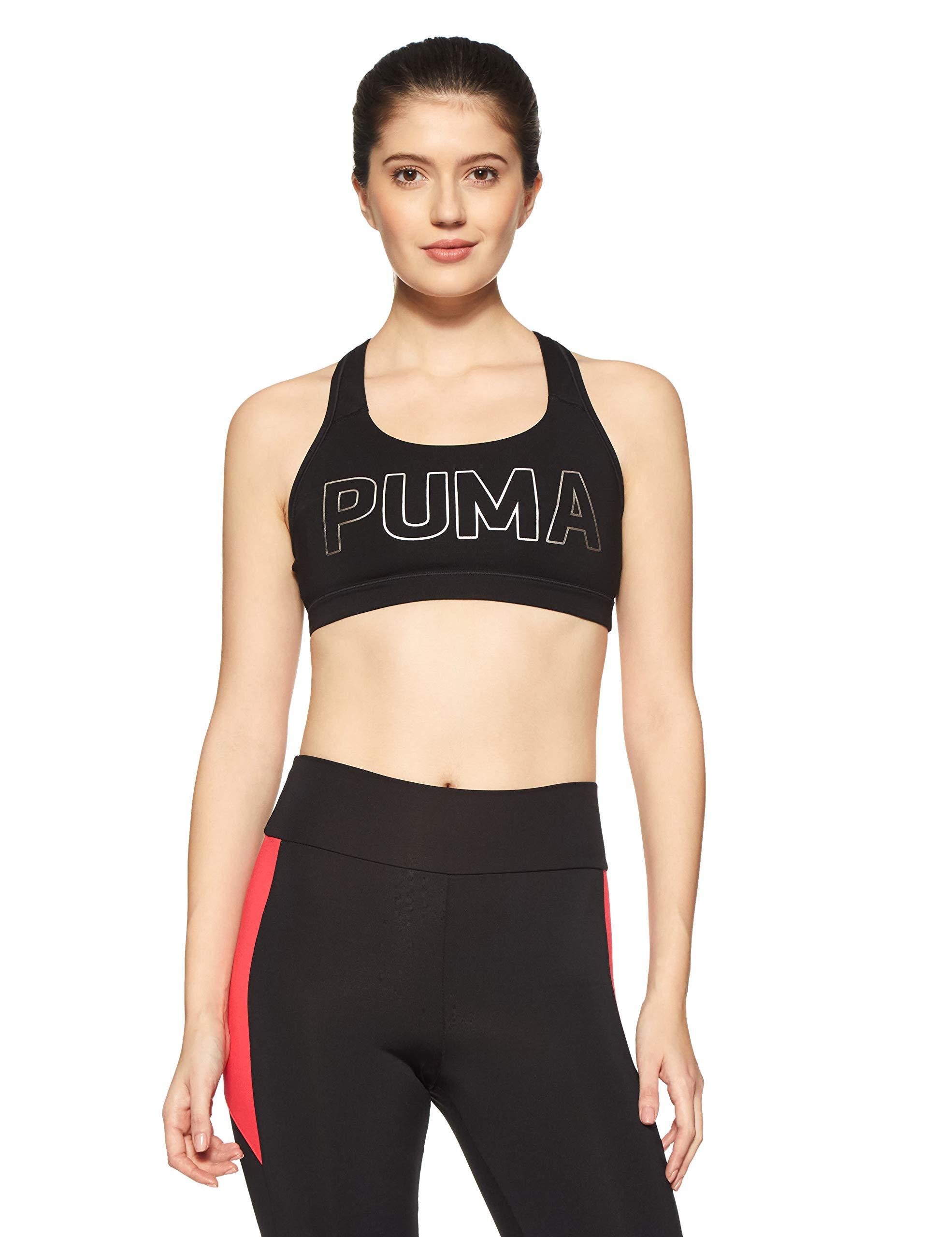 Puma Damen Pwrshape Forever-Logo Crop Top