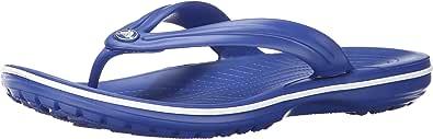 Crocs Unisex's Crocband Flip Flop, Cerulean Blue/White, M8   W9 UK (42-43 EU)
