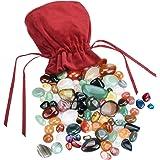 Kit de más de 60 piezas Mini Piedras naturales variadas para joyería DIY sobre 180g