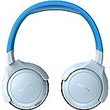 Philips Audio Philips Kinderkopfhörer KH402BL/00 Wireless On Ear Kopfhörer (Bluetooth, 85 db, 20 Stunden Spielzeit, LED Panel