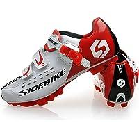 SIDEBIKE Chaussures pour Vélo Tout Terrain Chaussures Vélo/Chaussures de Cyclisme/en Grille Respirante
