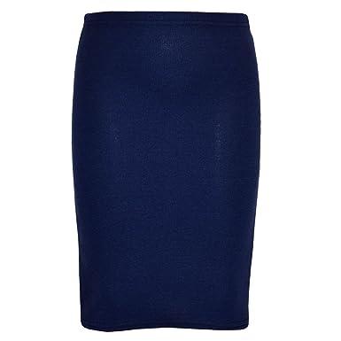 stretch navy pencil skirt dress ala