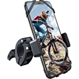 YOSH Porta Cellulare Bici, Supporto Bici Smartphone, Manubrio Universale Bici Moto MTB per Tutti Gli Smartphone e…