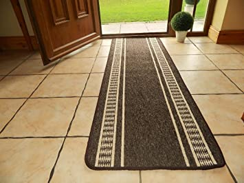 LARGE SMALL LONG DOOR MATS WASHABLE KITCHEN RUGS HALL RUNNERS UTILITY RUG  (3 SIZES U0026