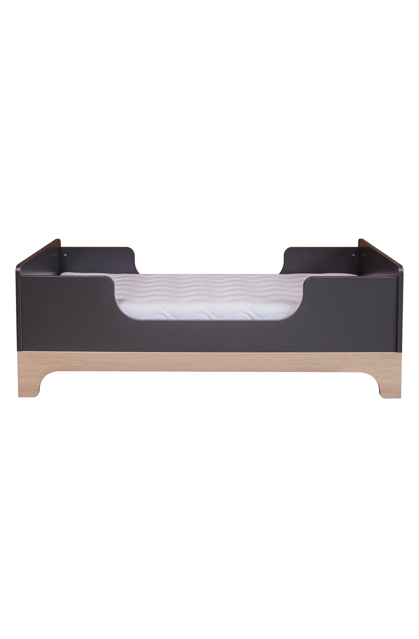 Kadolis Calvi Convertible Bed - 70 x 140 cm Antracita/Madera   3