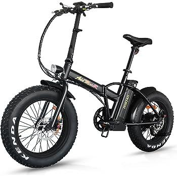 Addmotor MOTAN M-150 Bicicleta eléctrica 2017, 4 colores neumáticos gruesos, portátil,