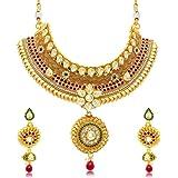 Sukkhi Copper Jewellery Sets for Women (Golden) (N70918GLDPD10050)