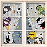 heekpek Halloween venster stickers vleermuizen spin stickers klampt zich vast spin herbruikbare stickers Halloween vinyl stic