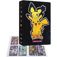Album Raccoglitore Cartella Libro Porta Carte Compatibile con Carte Pokémon, Album di carte collezionabili, Può…
