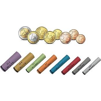 Set Münzrollpapier 001 Bis 200 Euro Geldrollen Rollgeld Papier
