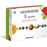 Clementoni-Il Cosmo Montessori Gioco Educativo, Multicolore, 16248