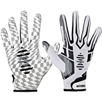 Hivool Guanti da Football Americano Guanti Riceventi, Ultra-Stick Sports Receiver Gloves, Guanti da Calcio ad Alte…