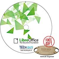 TechGuy4u LibreOffice 2018 Home, Student, Professional & Business - Word & Excel Compatible Software for PC Microsoft Windows 10 8.1 8 7 Vista XP 32 64 Bit & Mac OS X - Full Program with Free Updates!- Free Ear Phone Holder,