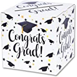 Graduation Box – Graduation Card Box, Graduation Party Decoration – 1 Set(WHITE)