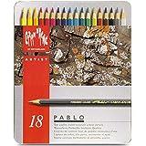 Caran d-Ache Pablo 18, grey, multi