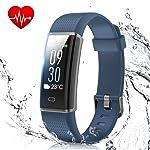 Fitness Band, Muzili Activity Tracker with Heart Rate Monitor, IP68 Waterproof 14 Sport Mode Activity Band Smart Bracelet...