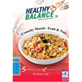 Healthy Balance Crunchy Muesli - Fruits & Nuts 500gm