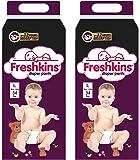 Freshkins Diaper Pants L -(Pack of 2, 68 Unit)
