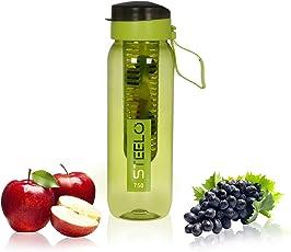 Steelo 750ml x 1 pcs Sante Infuser Water Bottle (Green)