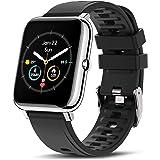 CanMixs Smartwatch Orologio Uomo Donna Fitness Watch con Saturimetro (SpO2)/Misuratore Pressione/Cardiofrequenzimetro da Pols