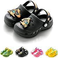 Kids Clogs for Boys Girls Non-Slip Cute Garden Shoes Children Lightweight Beach Pool Shower Slippers Sandals Mules