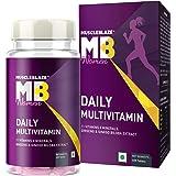 MuscleBlaze Daily Multivitamin for Women, Vitamins,Minerals,antioxidants, Immunity booster (60 Capsules)